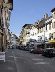 La Grand-Rue sera la première zone du centre-ville à être rénovée.