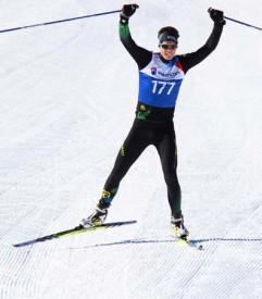 Florian Greusard, vainqueur sur 15 kilomètres.