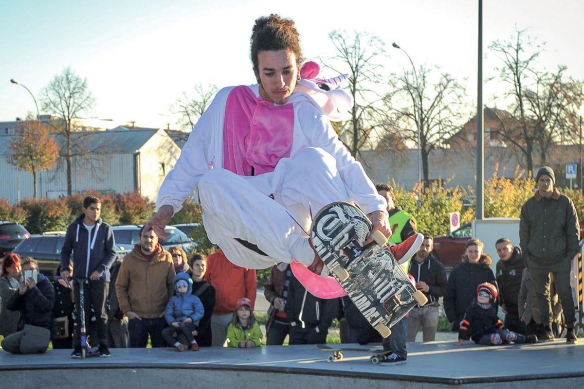Un skatepark pour les réunir tous