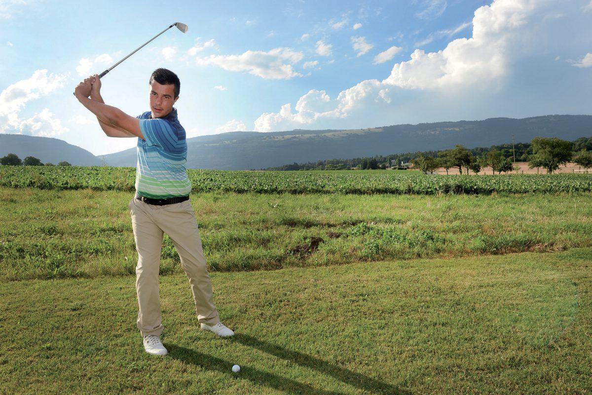 Le golfeur de Villars-sous-Champvent