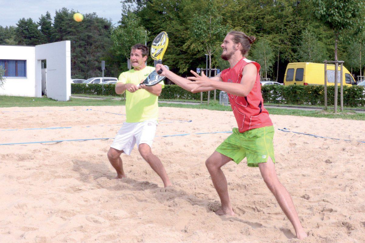 L'expérience a fini par parler sur le sable de la plage yverdonnoise
