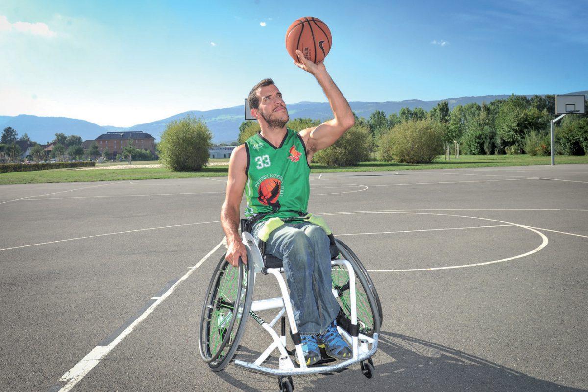 Laurent Jäggi, le basketteur qui espère susciter des vocations