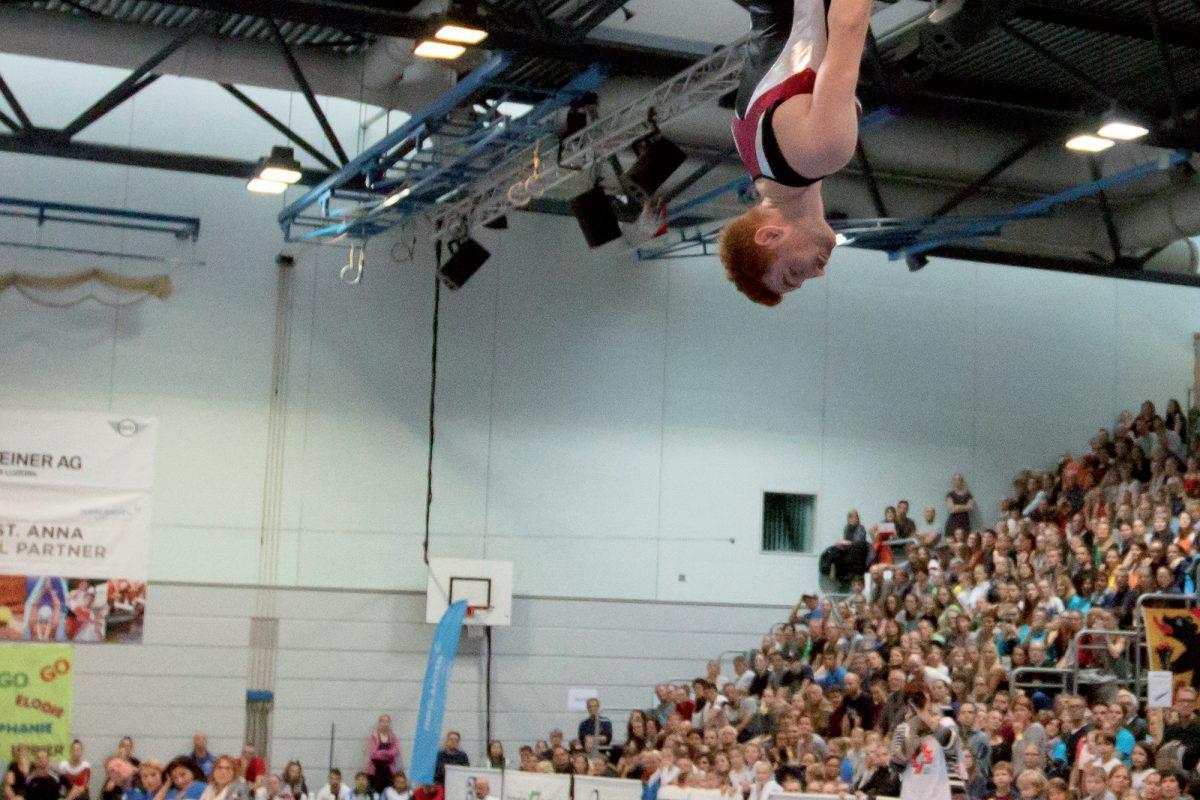 Le saut parfait de Justin Delay
