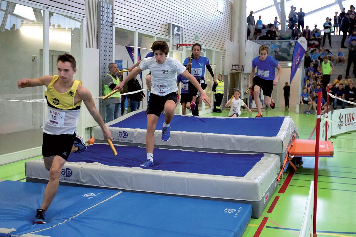 La salle des Isles en ébullition pour l'athlétisme
