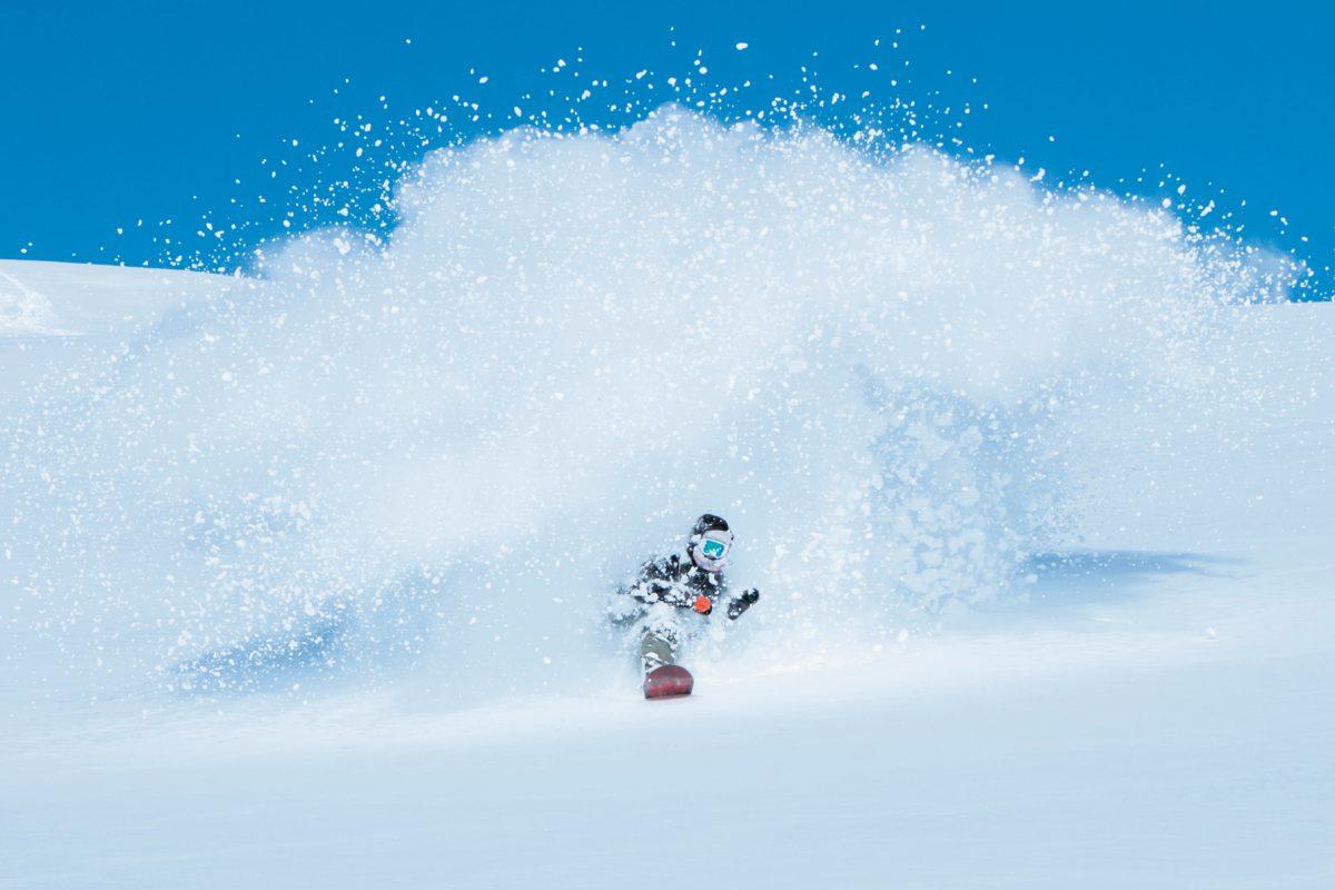 Lucas Baume, snowboarder et influenceur