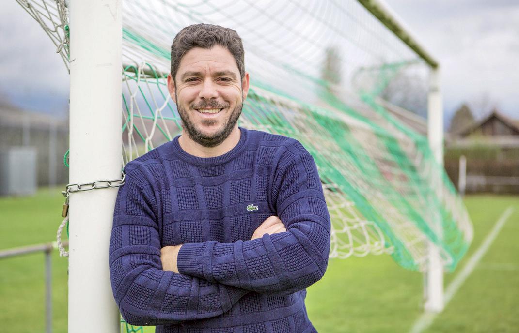 Le renard des surfaces Leandro de retour au Stade Municipal