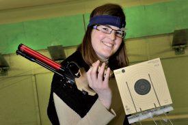 Marjorie Roulin est spécialiste du tir à 10m en salle. ©Duperrex-a