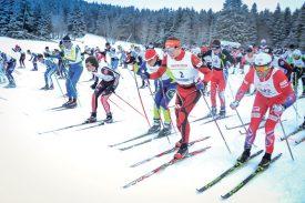 Les skieurs se sont élancés dans de bonnes conditions à Mauborget. ©Carole Alkabes