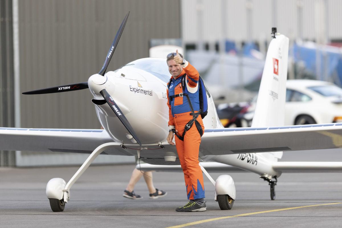 SolarStratos: premiers vols en solo pour Raphaël Domjan