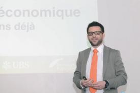 Président du Forum, Cédric Borboën a dévoilé, hier matin, les nouveautés de cette dixième édition. © Michel Duvoisin