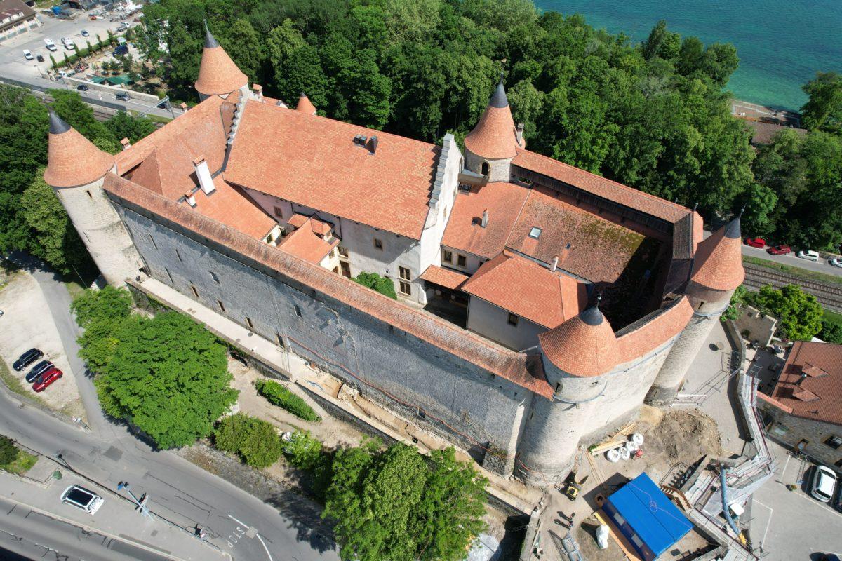 Une tour supplémentaire au Château de Grandson!