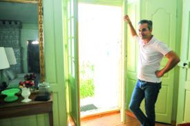 Jean-Christophe Liebeskind veut assurer la pérennité de sa demeure. Il en a confié la restauration à l'architecte du patrimoine Alain Felix. ©