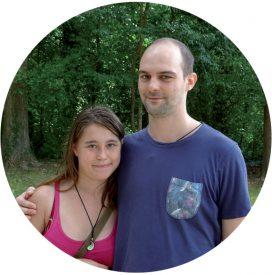 Arnold von Bauer et Alicia Oguey