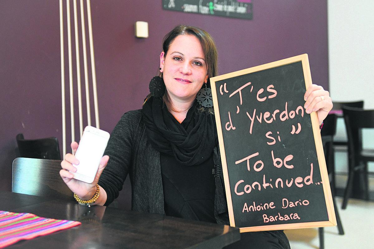 Personnalité nord-vaudoise 2020: Barbara Rao, la femme qui a mobilisé la population d'Yverdon autour de ses cafetiers