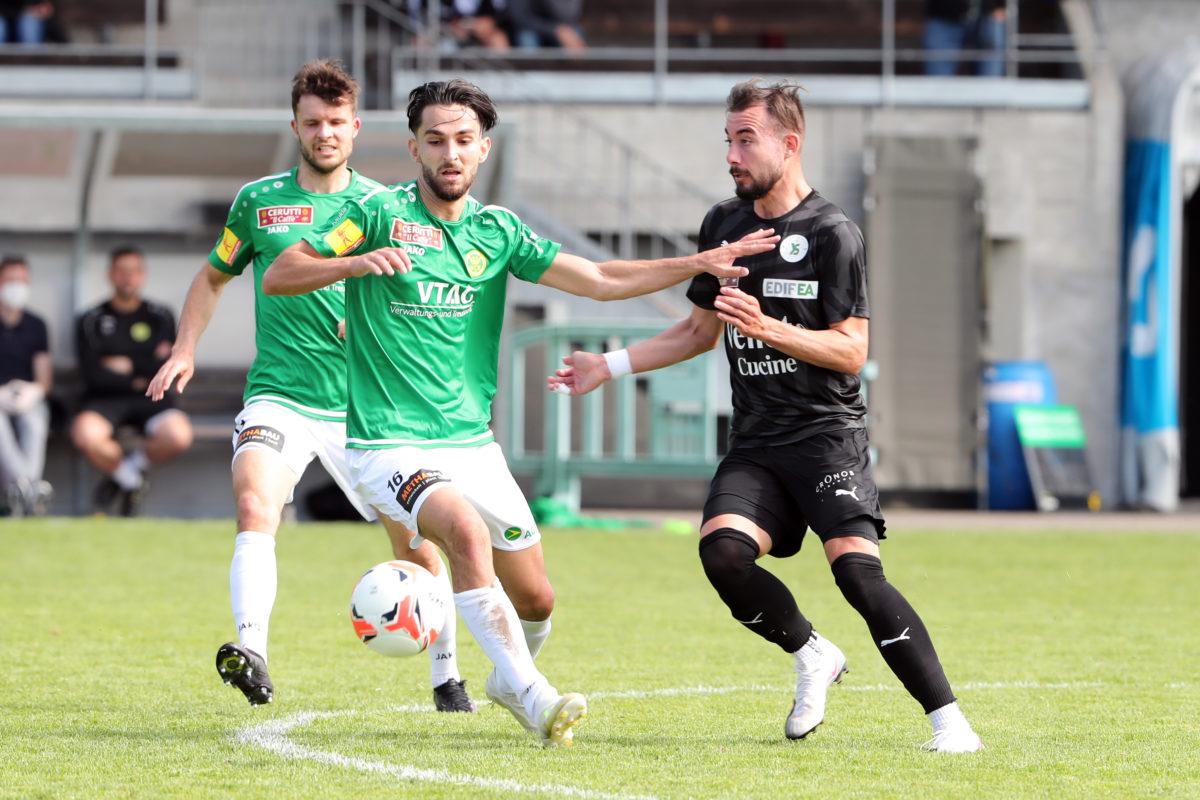 YS s'impose à Brühl et se rapproche encore de la Challenge League
