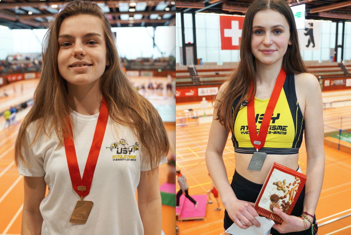 Les jeunes Yverdonnoises goûtent au podium suisse