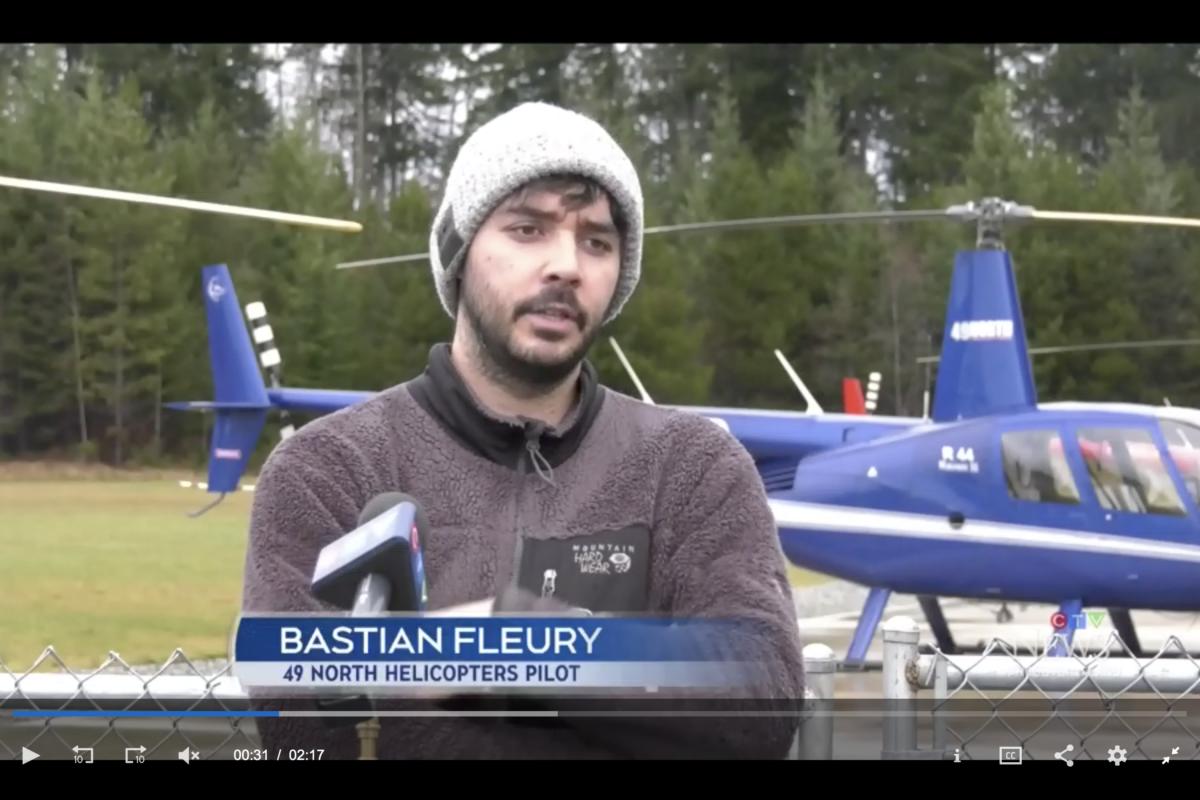 Bastian Fleury a été le premier à découvrir l'ampleur de la catastrophe
