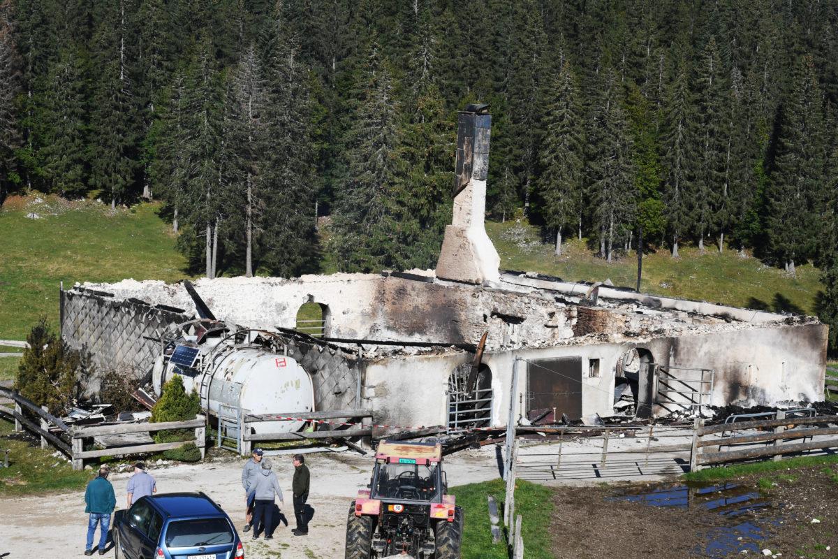 Le chalet d'un Nord-Vaudois détruit par les flammes