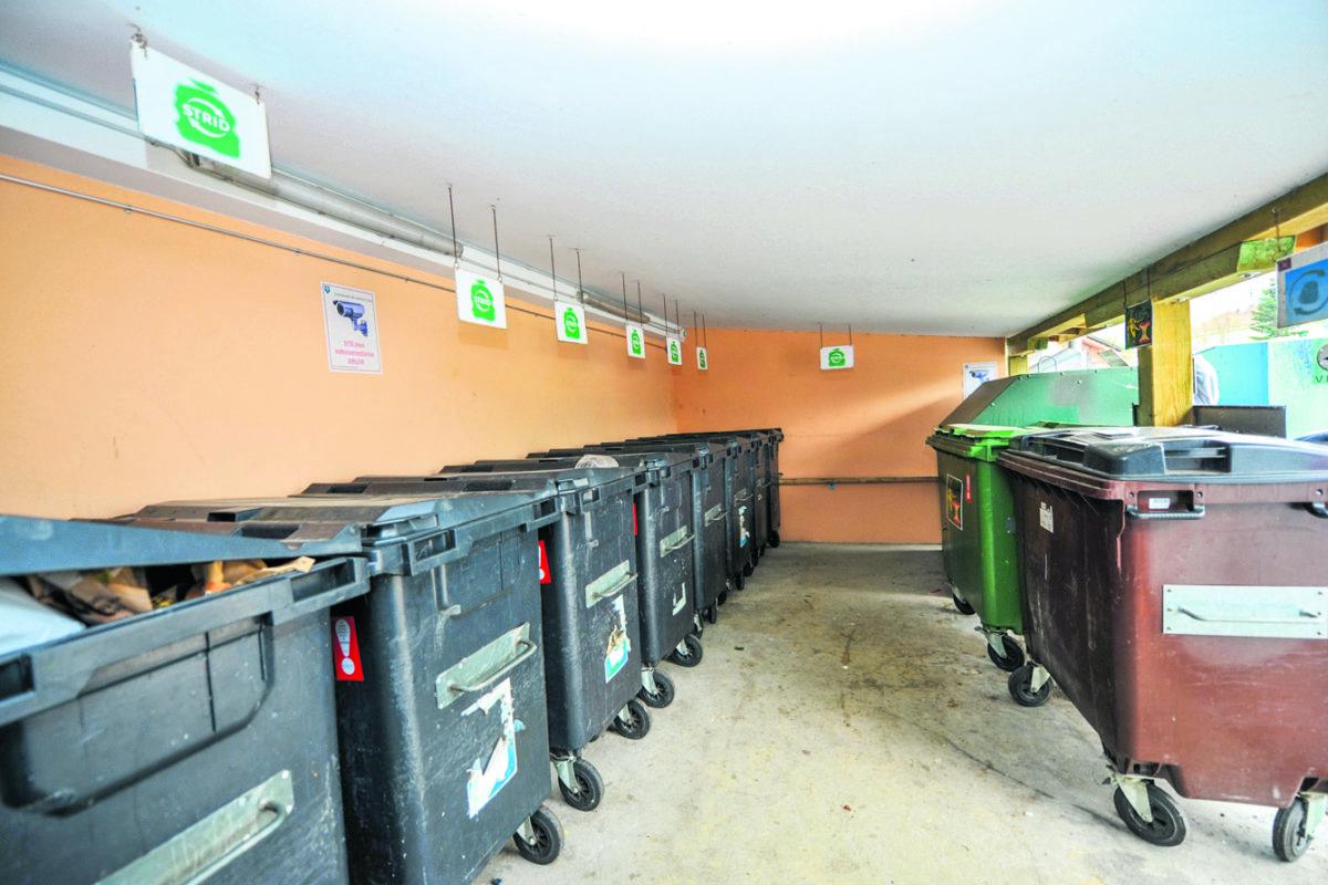 Ces poubelles qui finissent en France