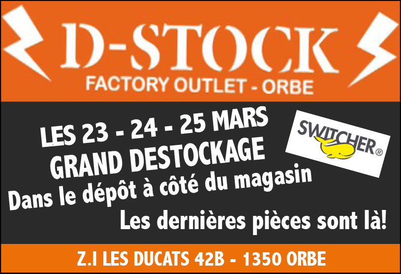Switcher Destockage