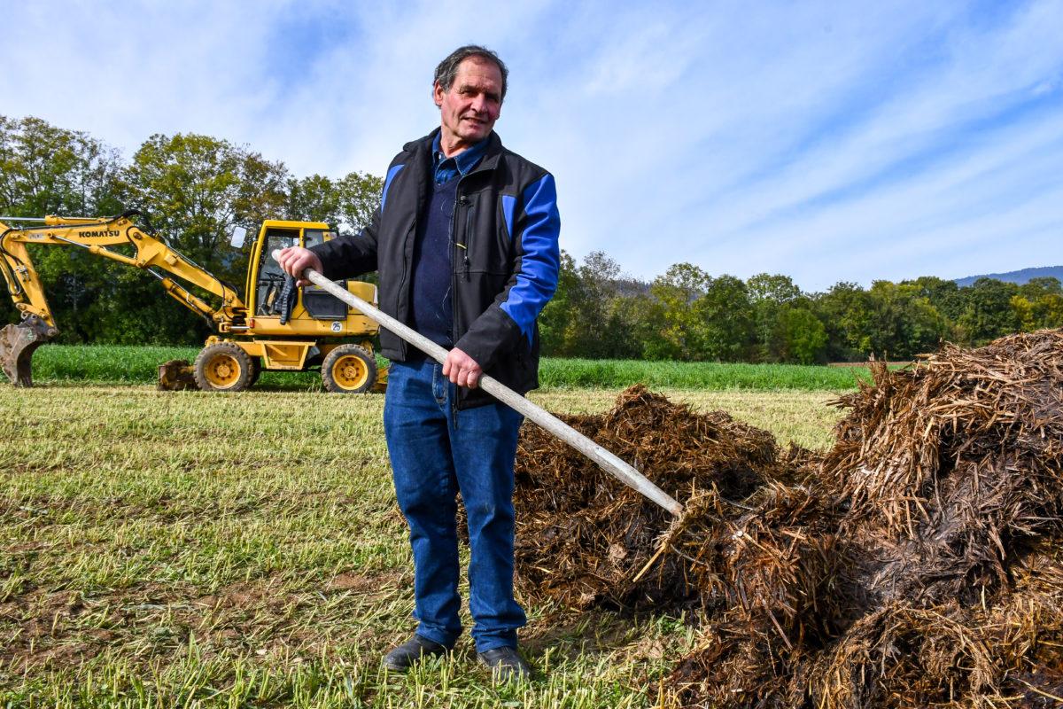«Les agriculteurs ont une responsabilité énorme quant au sous-sol et aux eaux»
