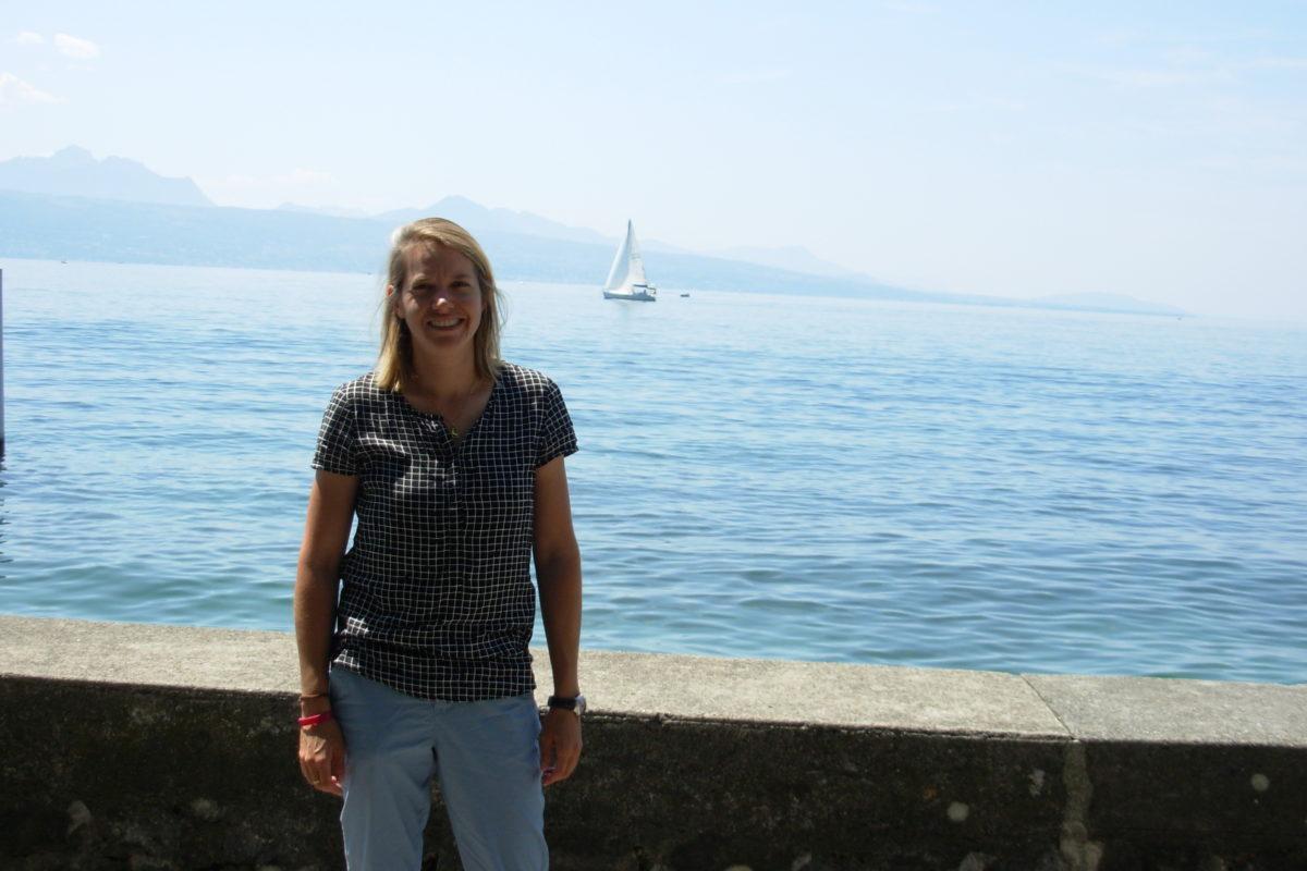Sandrine Ray et le rêve olympique