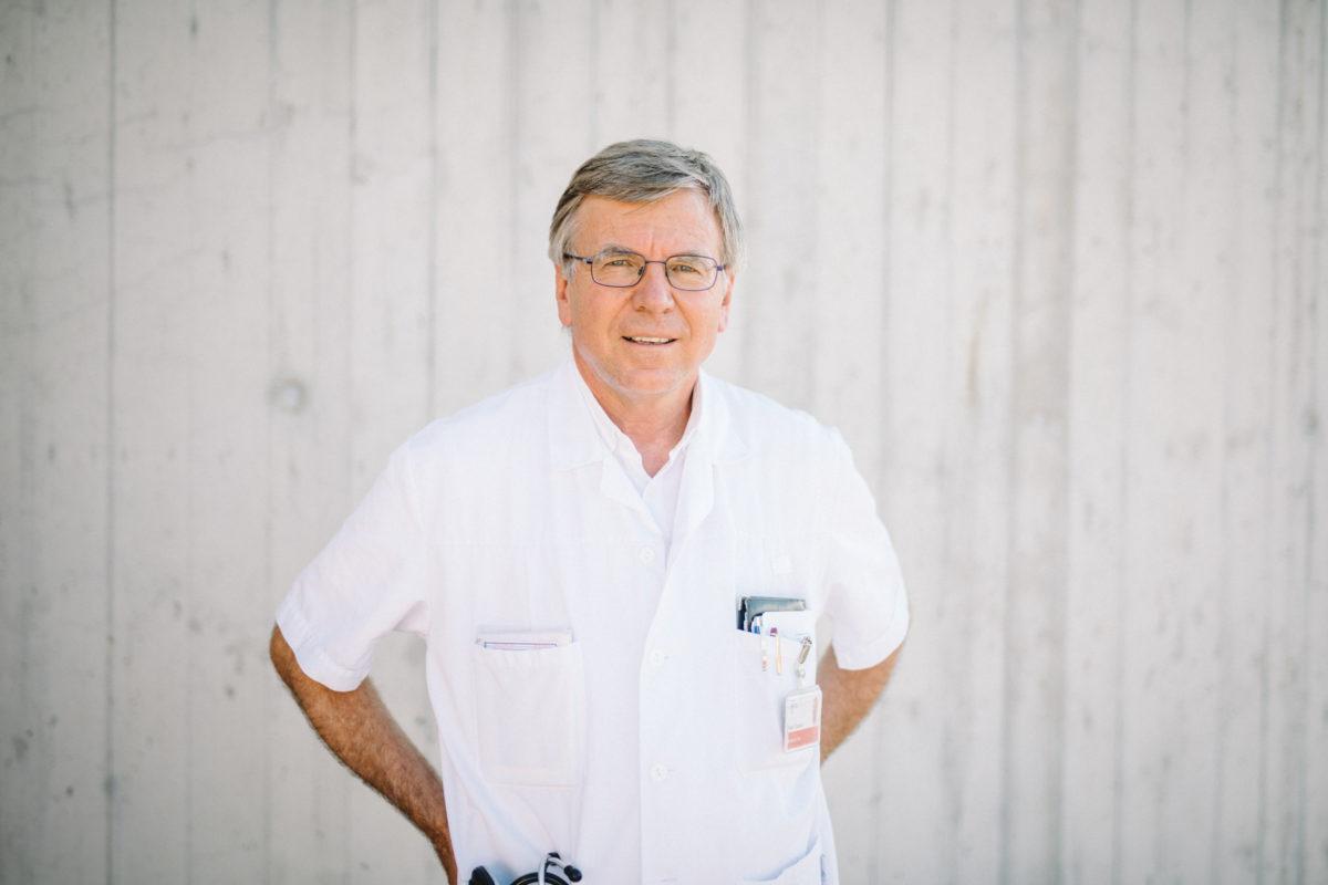 Le docteur Alain Cometta part à la retraite