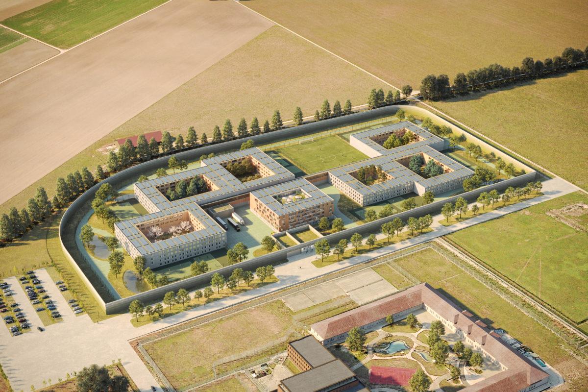 Architecture flexible et fonctionnelle pour le futur établissement pénitentiaire des Grands-Marais