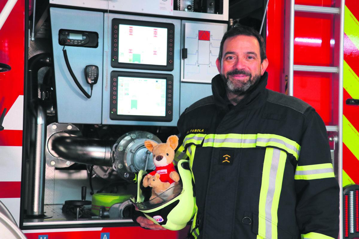 Président du Téléthon, pompier, chef d'entreprise: les trois vies de l'infatigable David Fasola