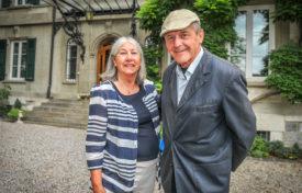 Ursula von Siebenthal a accueilli l'écrivain Michel Bory, qui a mentionné l'édifice dans l'un de ses romans policiers. Plus de 320 participants ont visité la demeure.