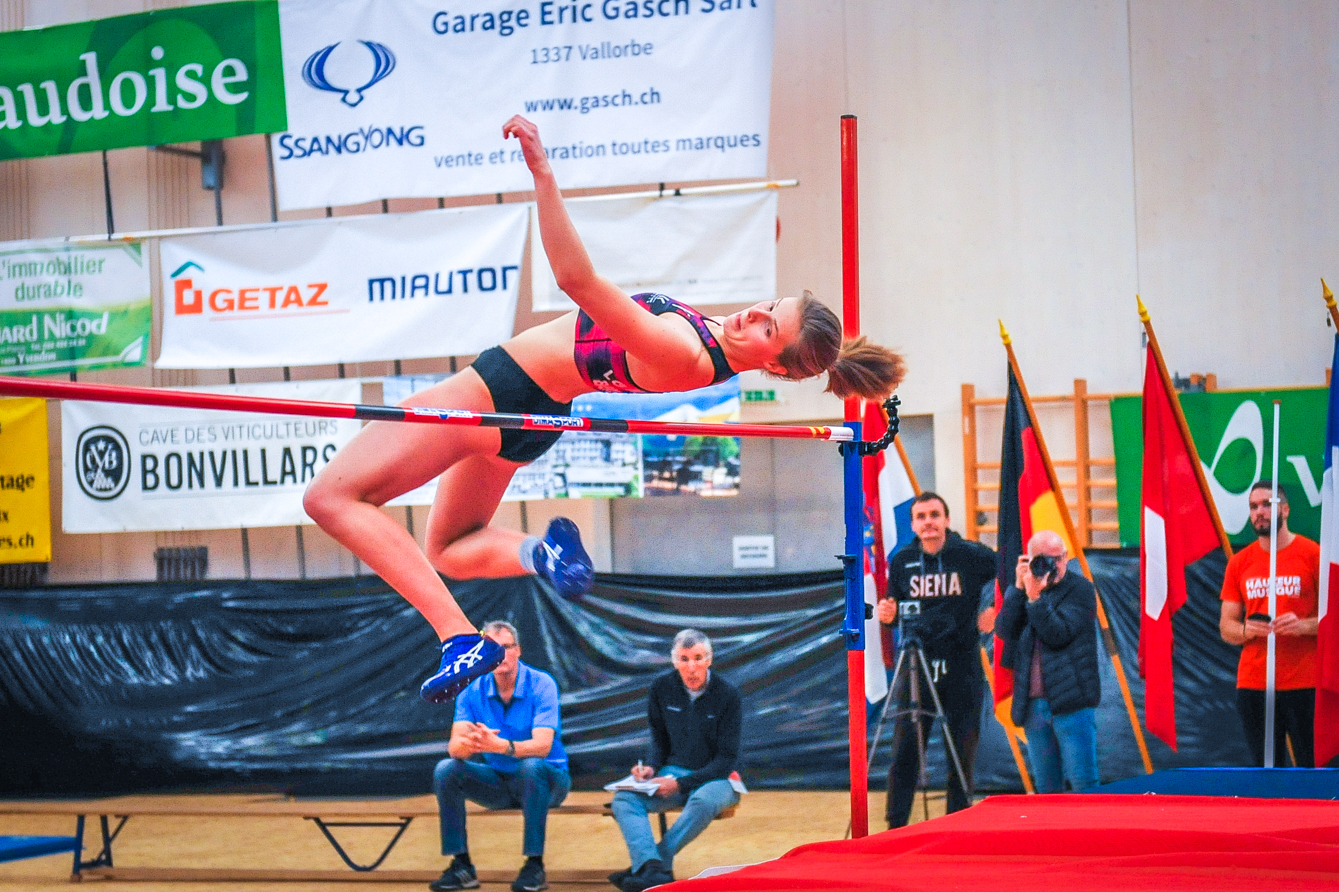 Leonie Reuter s'est bien battue, mais elle n'a rien pu faire face à la grande gagnante Elena Vallortigara.