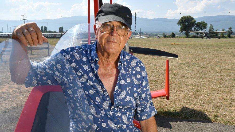 L'ancien chef de place de l'Aéroclub s'est envolé pour la dernière fois