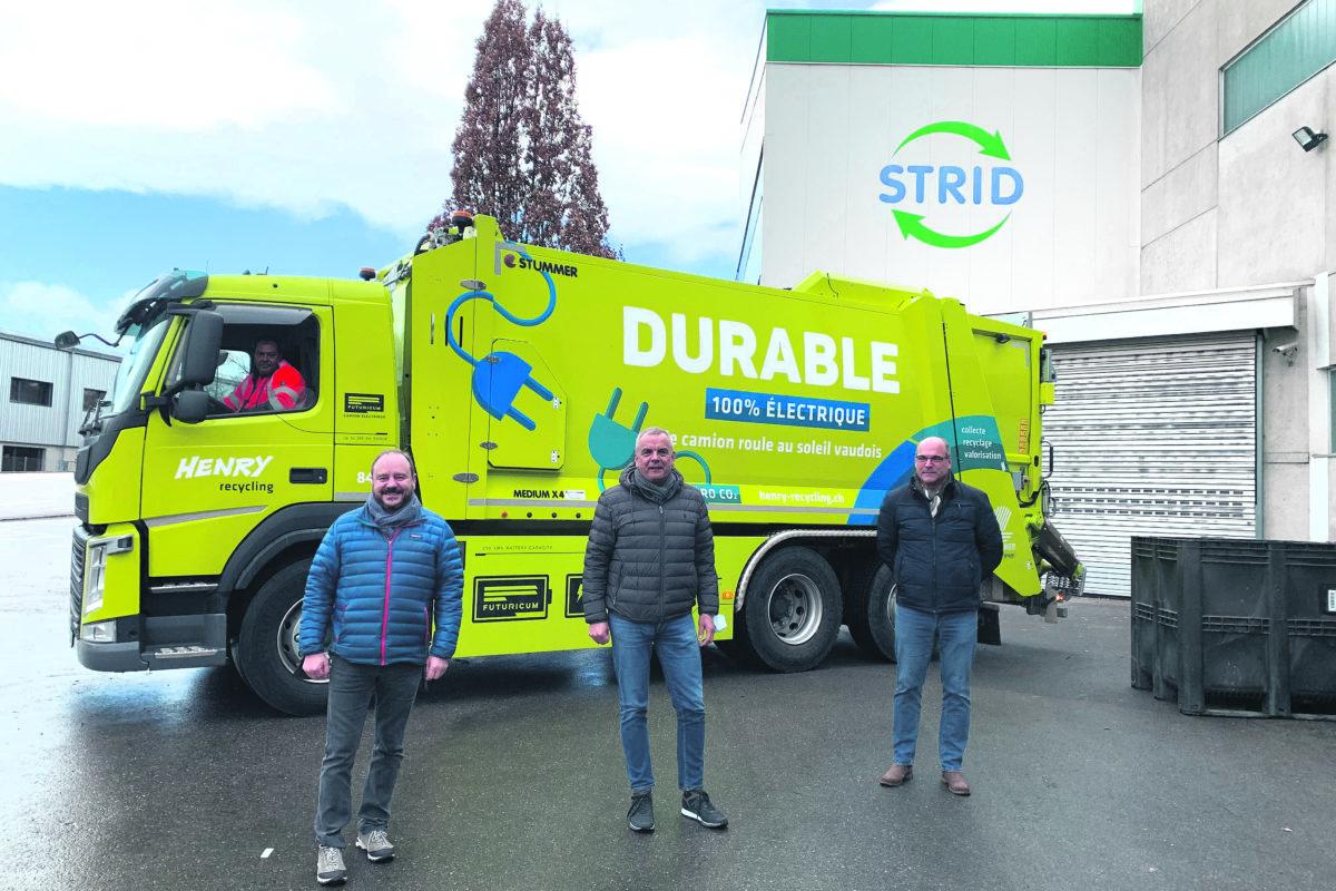La STRID et Henry Transports voient la vie en vert