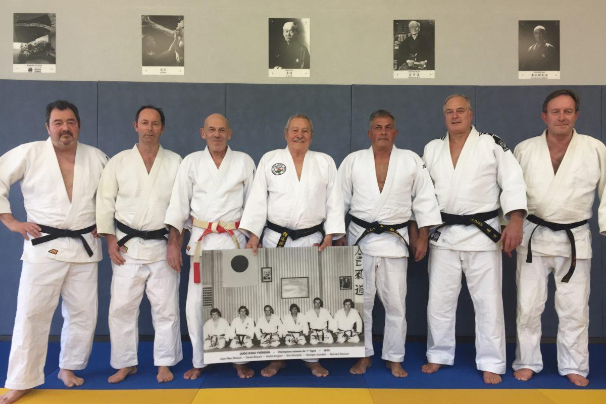 André Arrigoni était un pilier du Judo Kwai
