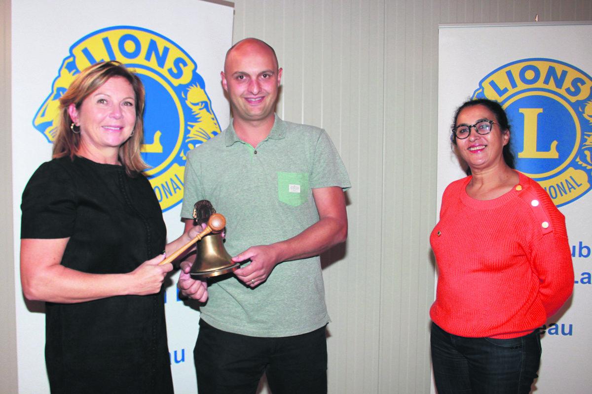 Thierry Sonney, nouveau président du Lions Club Grandson Lac & Château