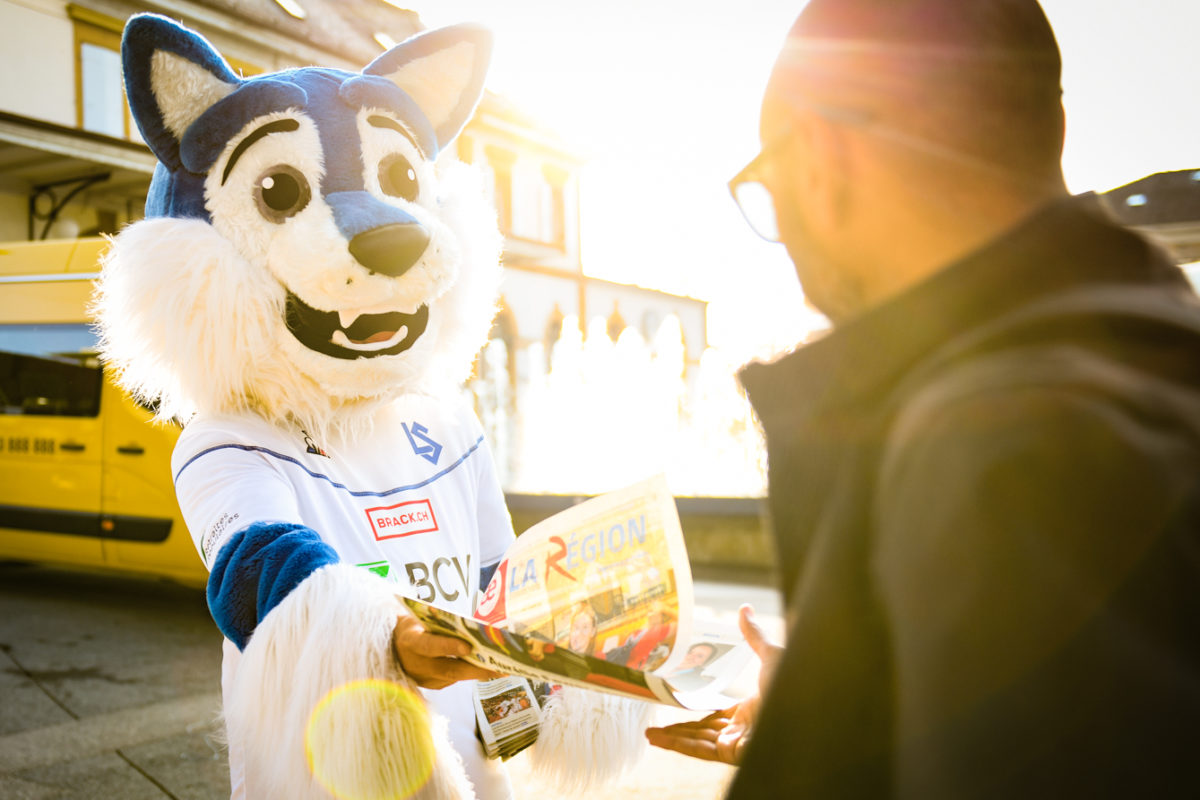 Dessine la mascotte du LS et gagne ta journée d'anniversaire au stade de la Tuilière!