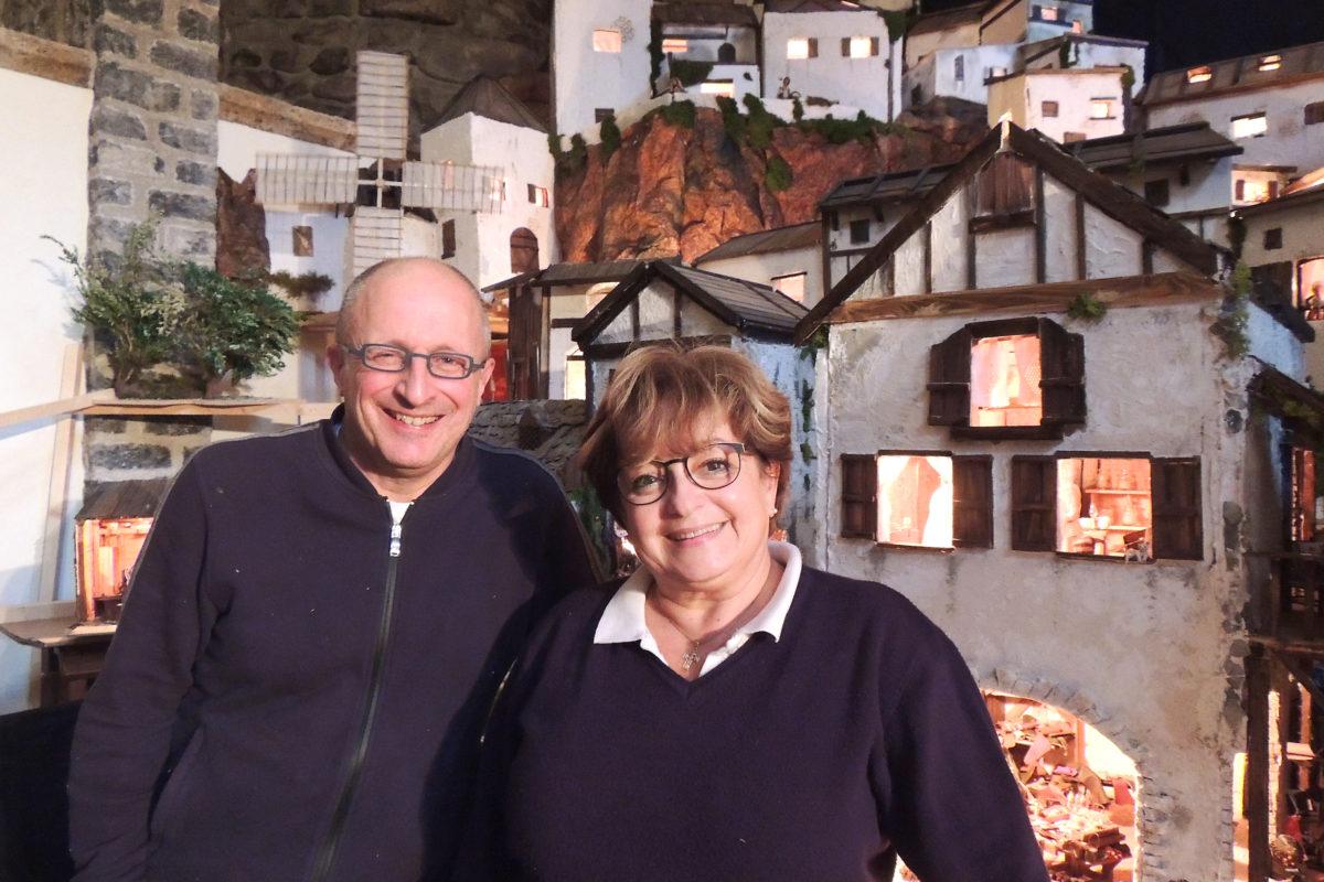 Saint-Maurice – Une crèche de l'Avent montée par deux faiseurs de rêves