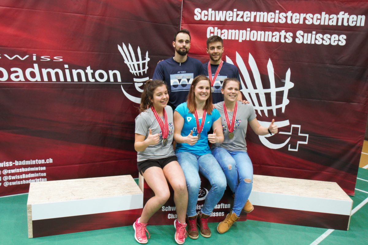 Le BCY truste les podiums suisses