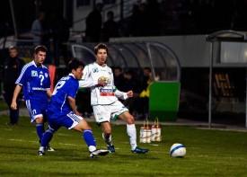 Mehdi Challandes sous les couleurs d'Yverdon Sport.
