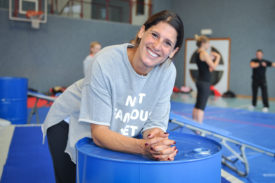 Myriam Bertholet-Laala, fondatrice du WM Team. © Carole Alkabes