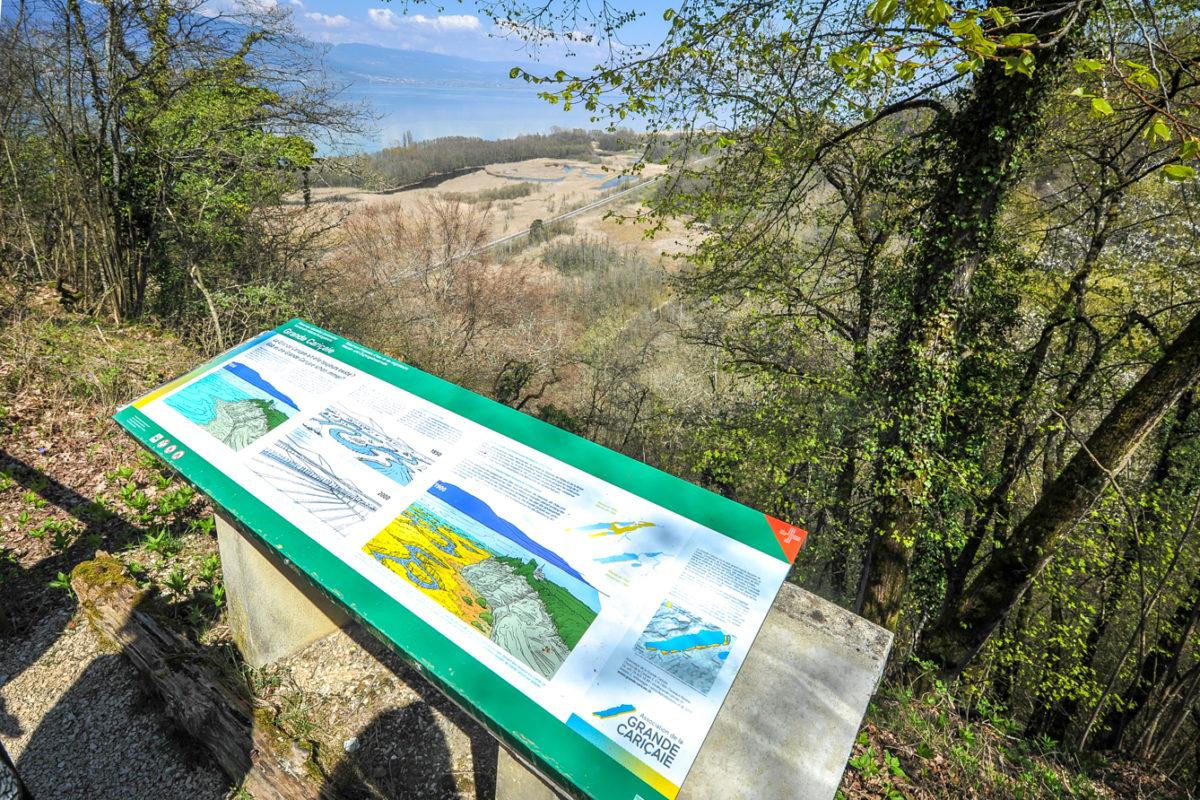 La réserve s'offre un balisage à la pointe