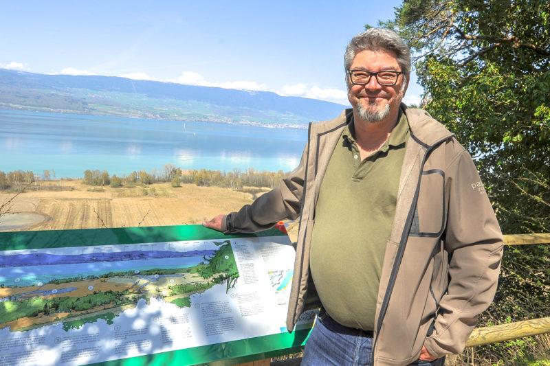 Christophe Le Nédic et son équipe disposeront progressivement de quelque 500 panneaux sur tout le territoire de la Grande Cariçaie.