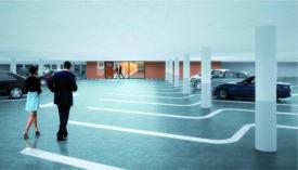 Le projet de parking souterrain prévoit la construction de 1000 places de stationnement. Cette réalisation se fera en deux étapes pour assurer un nombre de places minimum sur la place d'Armes durant le chantier.©