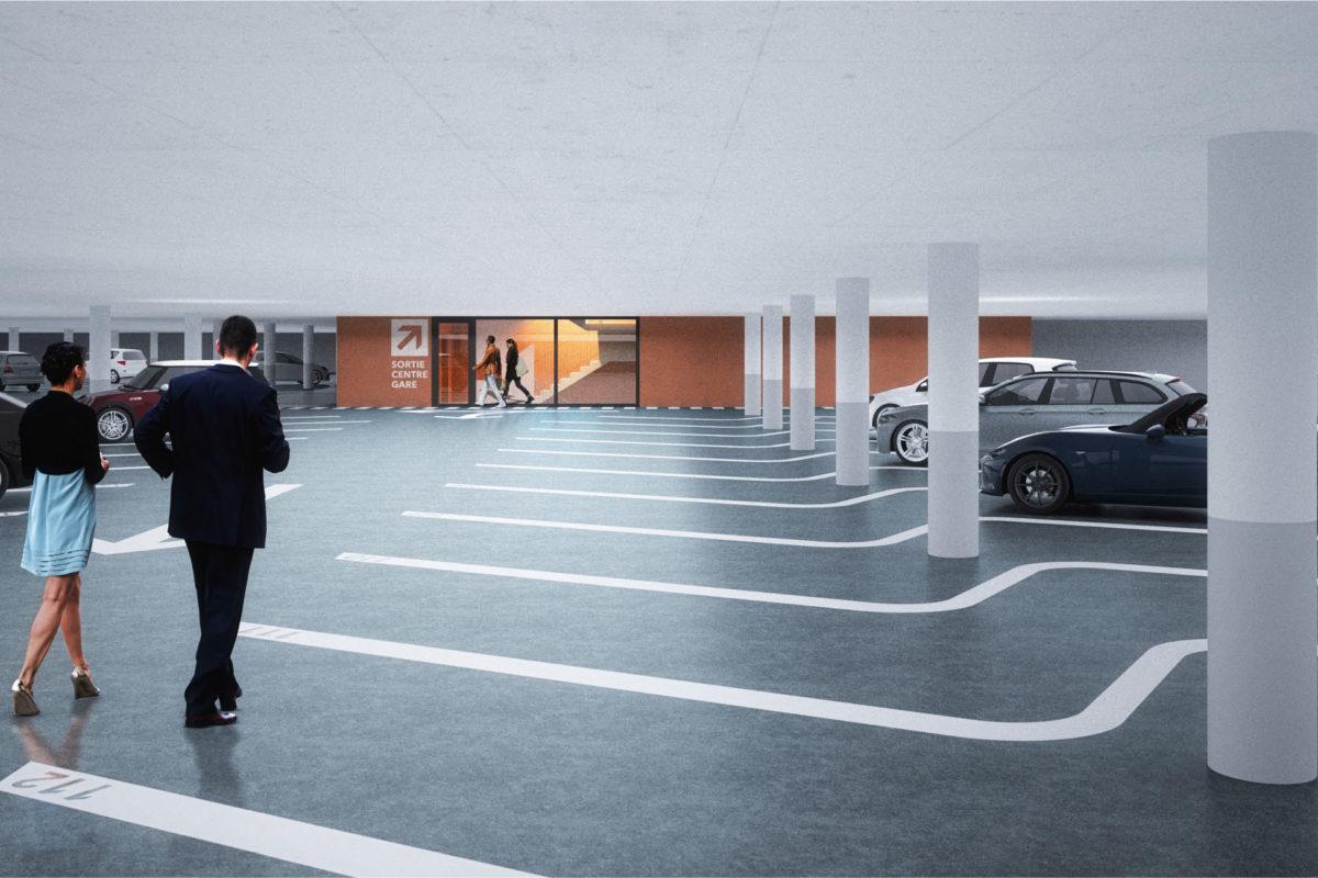Le parking souterrain passe la rampe
