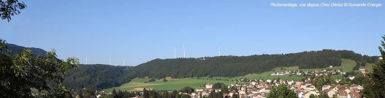 Le premier chantier éolien du canton a démarré à Sainte-Croix