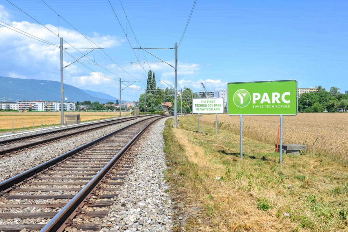 Le sort de la gare d'Y-Parc se joue à Berne