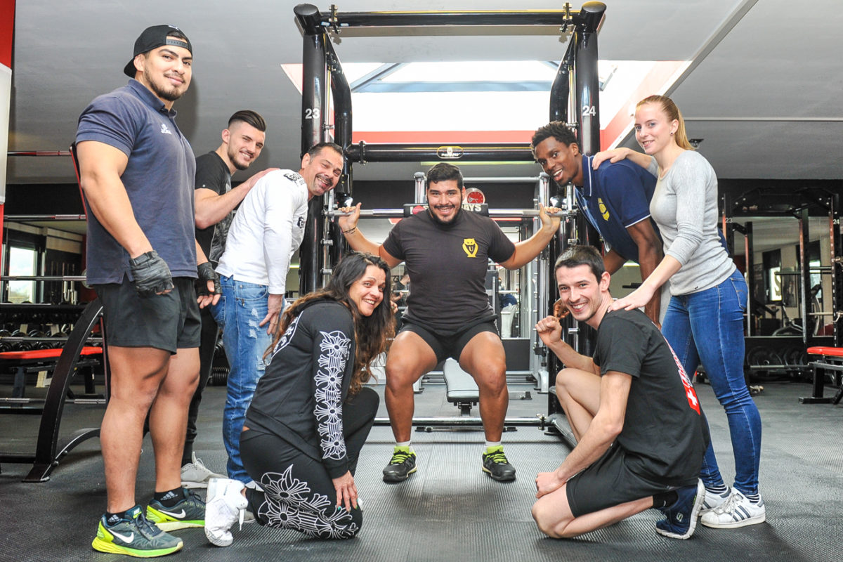Red-Y, le fitness des champions
