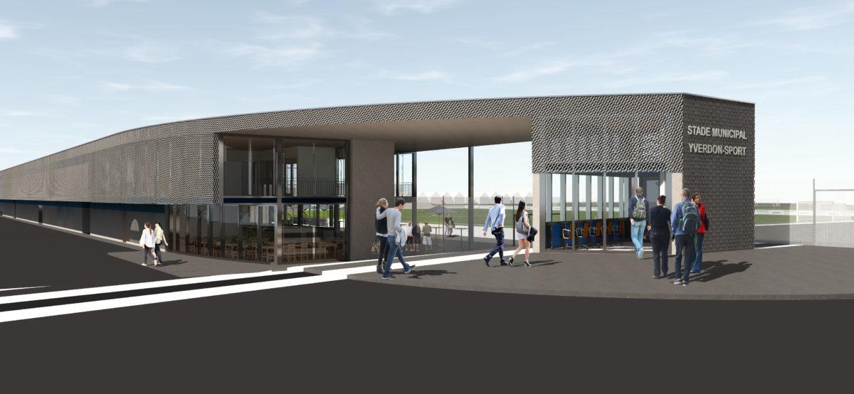 Feu vert pour  la rénovation  du stade municipal