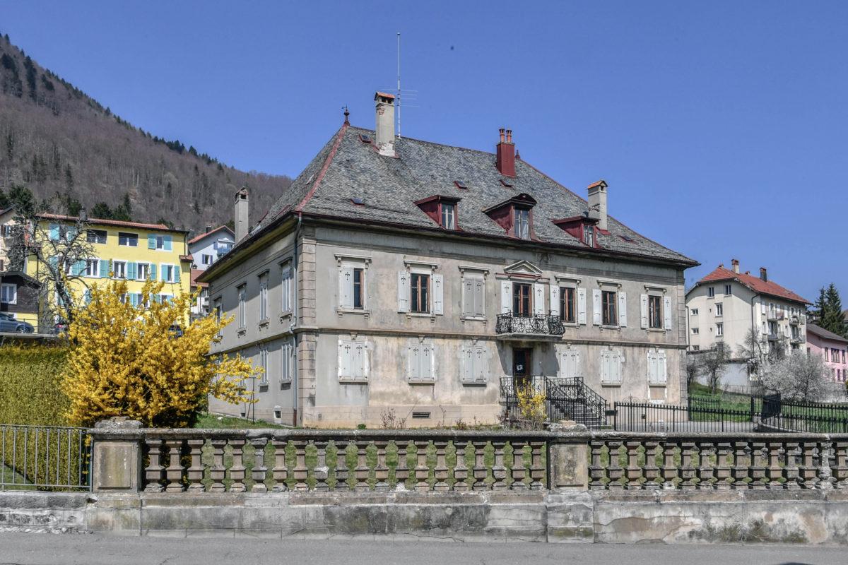 La Villa Robertia à Vallorbe est désormais classée