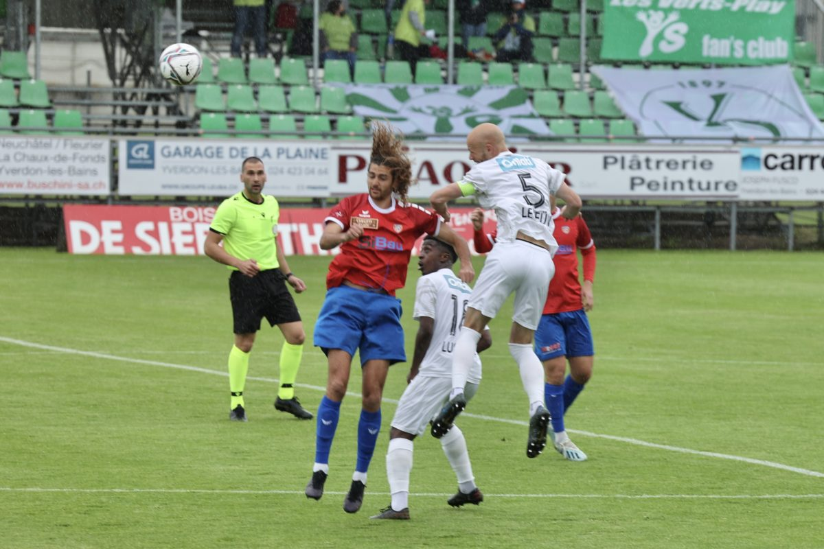 Yverdon Sport valide sa promotion!